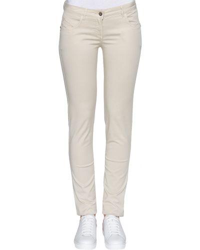 Бежевые джинсы Patrizia Pepe