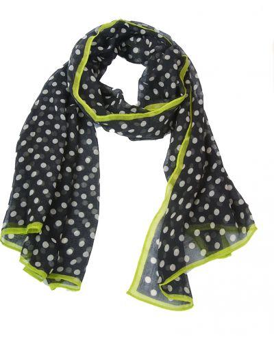 Черный шарф осенний Passigatti