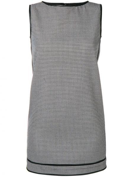 Платье на молнии в клетку Dsquared2