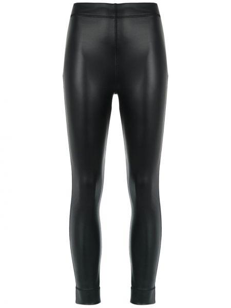 Брючные зауженные черные зауженные брюки с карманами Gloria Coelho