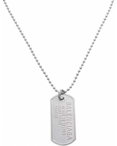 Серебряное ожерелье Balenciaga