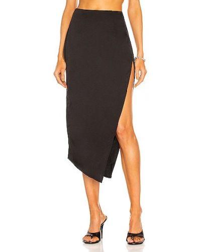 Czarna spódnica asymetryczna Atoir