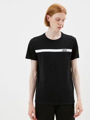 Черная зимняя футболка Replay