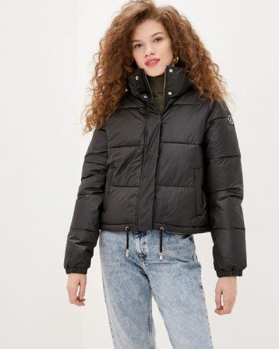 Утепленная черная куртка Sh