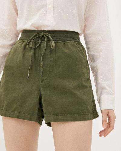 Повседневные зеленые шорты Gap