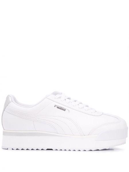 Кроссовки с логотипом белый Puma