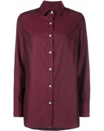 Рубашка с длинным рукавом красный на пуговицах Dresshirt