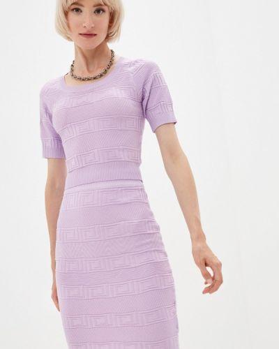 Вязаный костюм - фиолетовый Soky & Soka