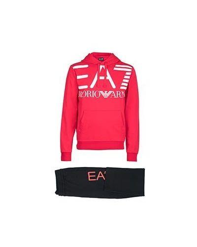 Спортивный костюм красный Ea7