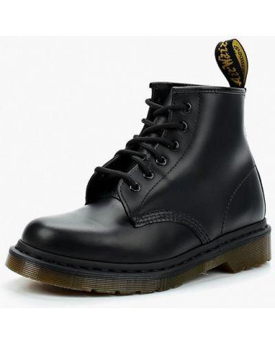 Кожаные ботинки высокие Dr Martens