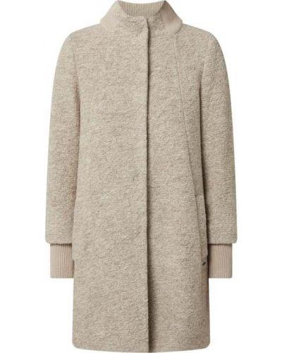 Płaszcz wełniany - brązowy Cinque
