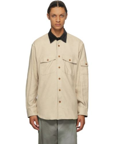 Черная фланелевая рубашка с воротником с манжетами Phipps