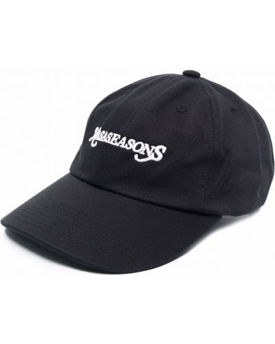 Czarna czapka z daszkiem Nasaseasons