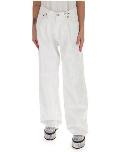 Białe mom jeans R13