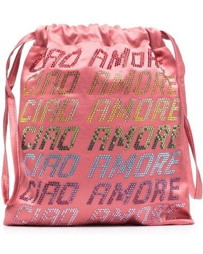 Różowa kopertówka Giada Benincasa