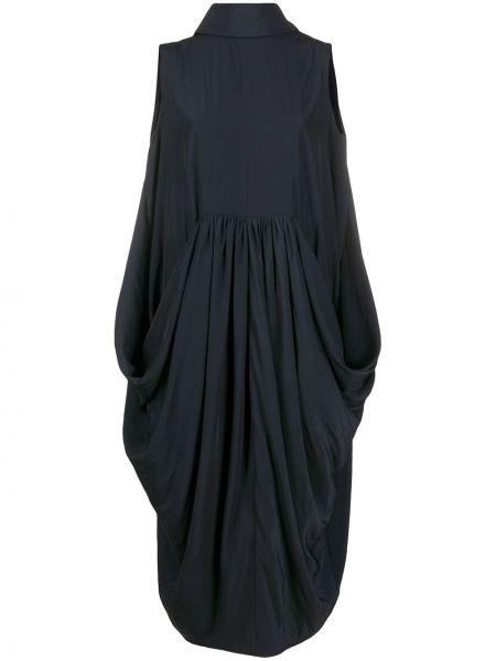 Платье миди средней длины - синее Jw Anderson