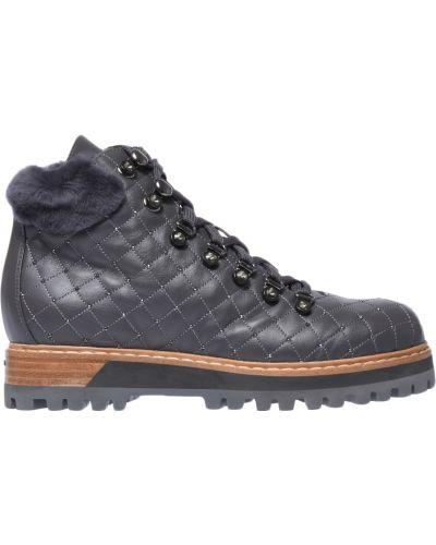 Кожаные ботинки осенние Le Silla