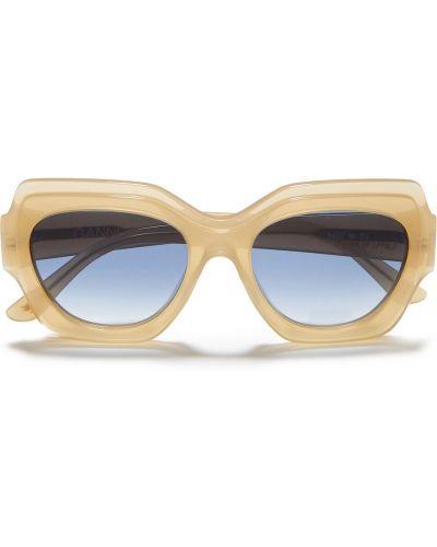 Etui na okulary - beżowe Ganni