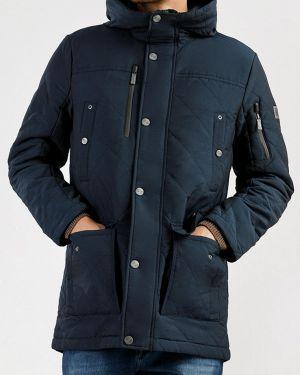 Утепленная куртка осенняя синяя Finn Flare