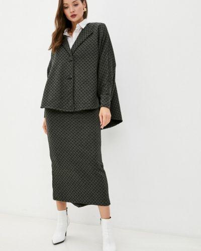 Костюмный костюм хаки Sahera Rahmani