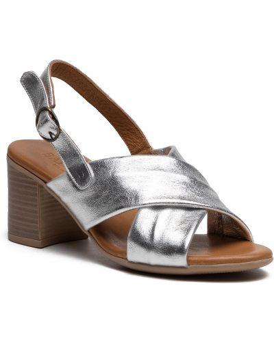 Sandały skórzane Badura