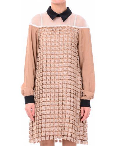Бежевое платье Twin-set