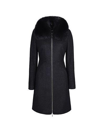 Пальто шерстяное из лисы Love Republic