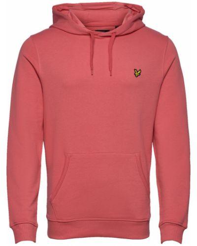 Różowy sweter z kapturem Lyle & Scott