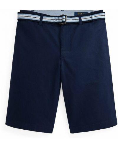 Niebieskie spodenki sportowe Polo Ralph Lauren