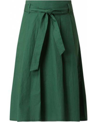 Spódnica rozkloszowana - zielona Montego