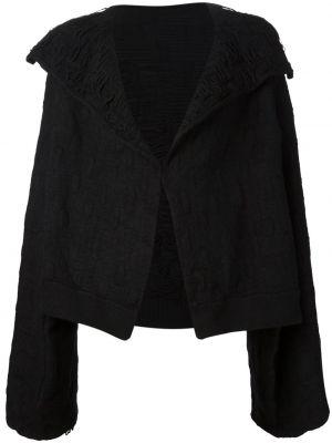 Шерстяной пиджак - черный Yohji Yamamoto