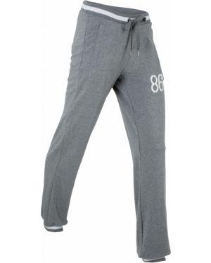 Спортивные брюки для бега с карманами Bonprix