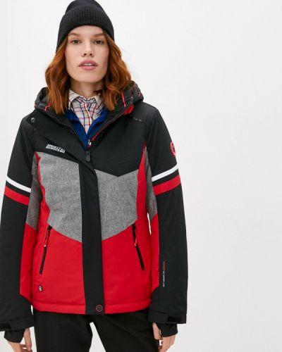 Черная куртка горнолыжная High Experience