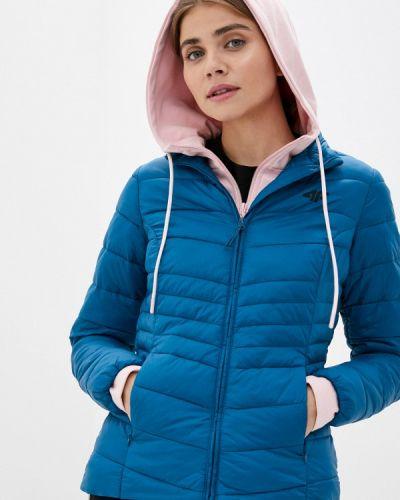 Бирюзовая теплая куртка 4f