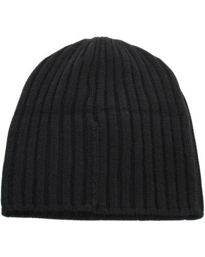 Czarna czapka beanie Fedeli