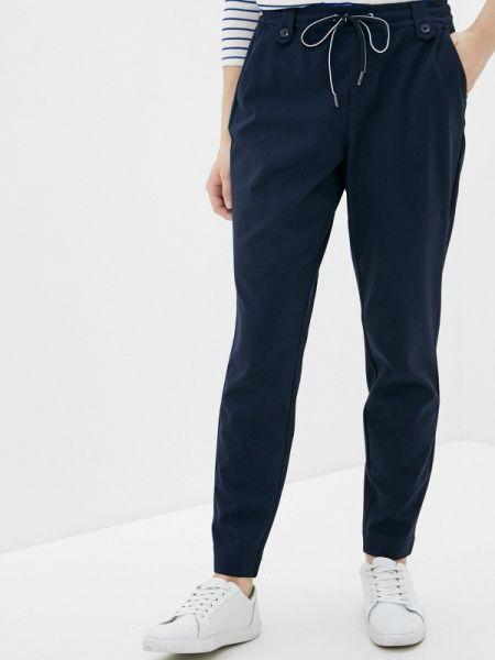 Бежевые джинсы-скинни с пайетками S.oliver