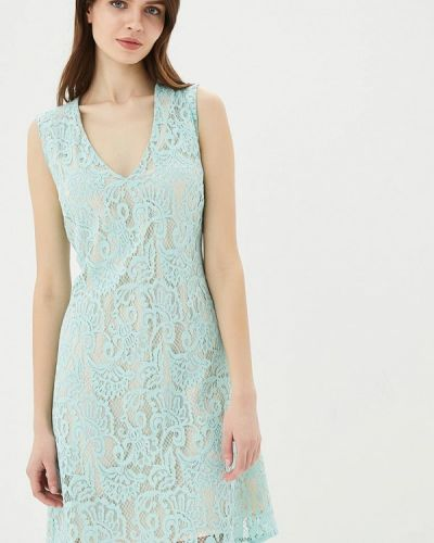 Бирюзовое платье весеннее United Colors Of Benetton
