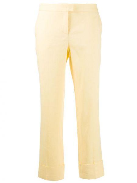 Укороченные брюки узкого кроя с карманами Fabiana Filippi