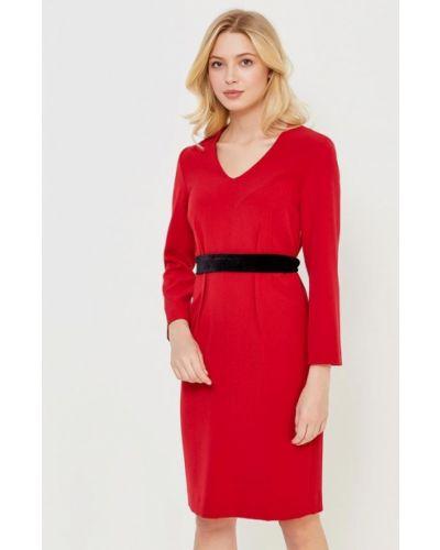 Платье весеннее красный Femme