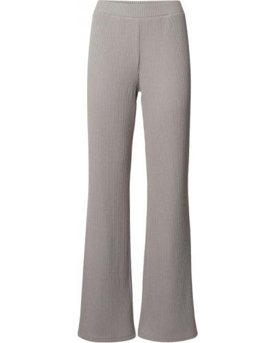 Beżowe spodnie z wysokim stanem materiałowe Jake*s Collection