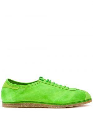 Tenisówki - zielone Guidi