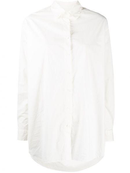 Белая классическая рубашка с воротником свободного кроя на пуговицах Casey Casey