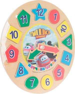 Часы детский Wooden Toys