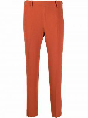 Брюки с карманами - оранжевые Alberto Biani