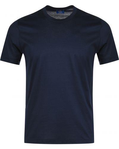 Хлопковая футболка - синяя Barba Napoli