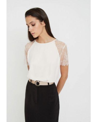 Блузка с коротким рукавом белая весенний Lime