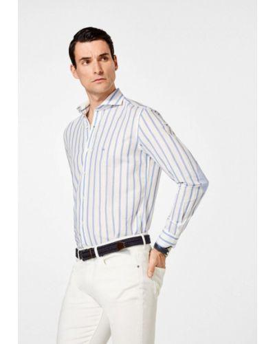 Белая рубашка Pedro Del Hierro