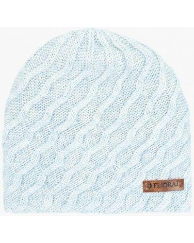Голубая шапка осенняя Flioraj