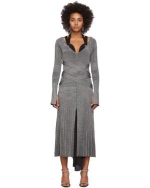Платье макси с завышенной талией на пуговицах Proenza Schouler