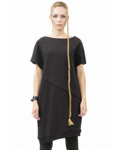 Прямое черное платье Pavel Yerokin